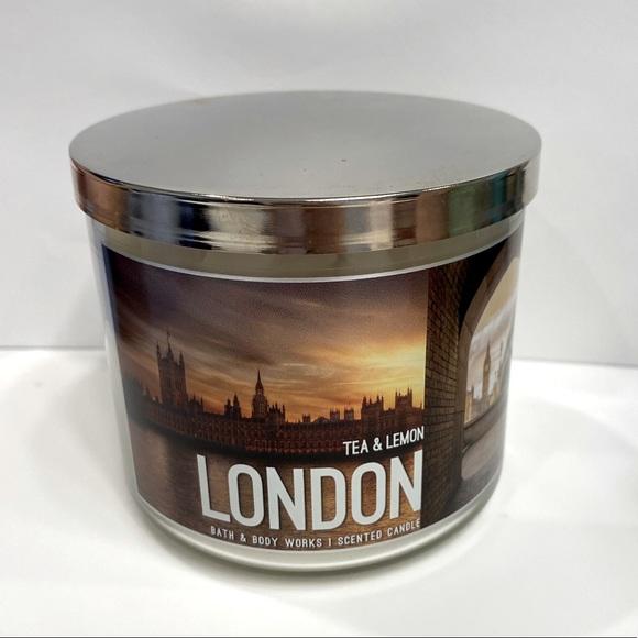 Bath & Body Works Tea & Lemon 3-wick Candle